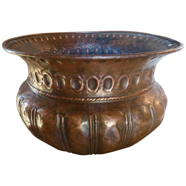 Dutch Copper Jardiniere