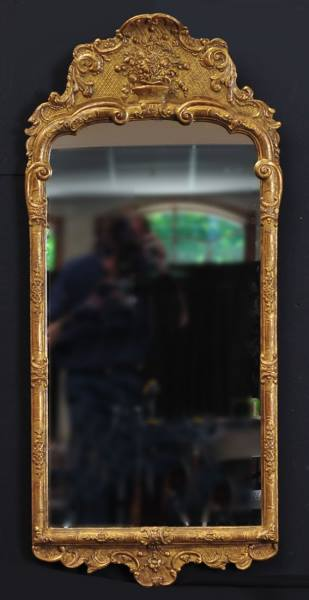 A Swedish 18th Century Mirror