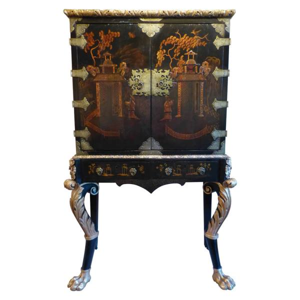 Fine Chinese Cabinet on Stand