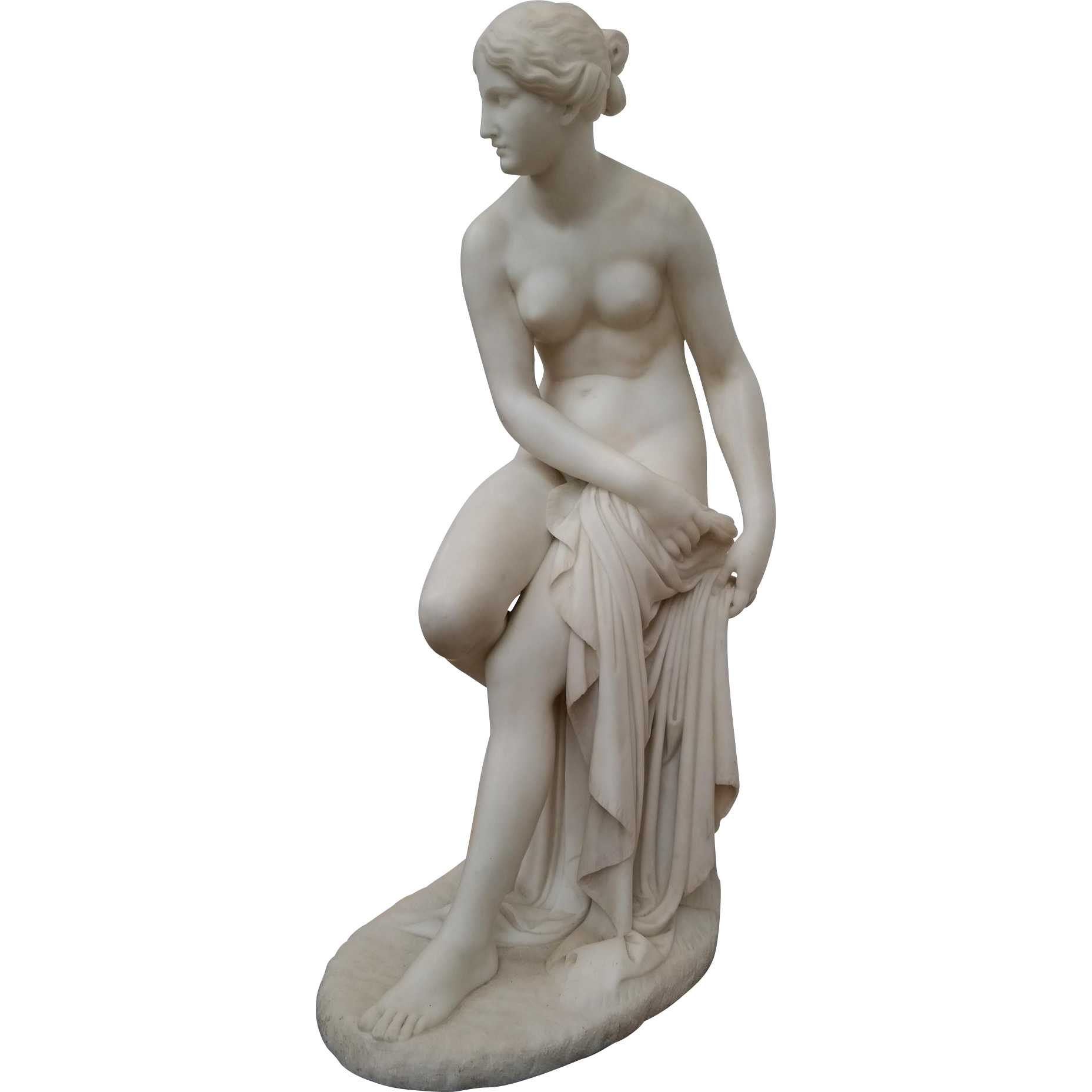 The Bather Marble Sculpture
