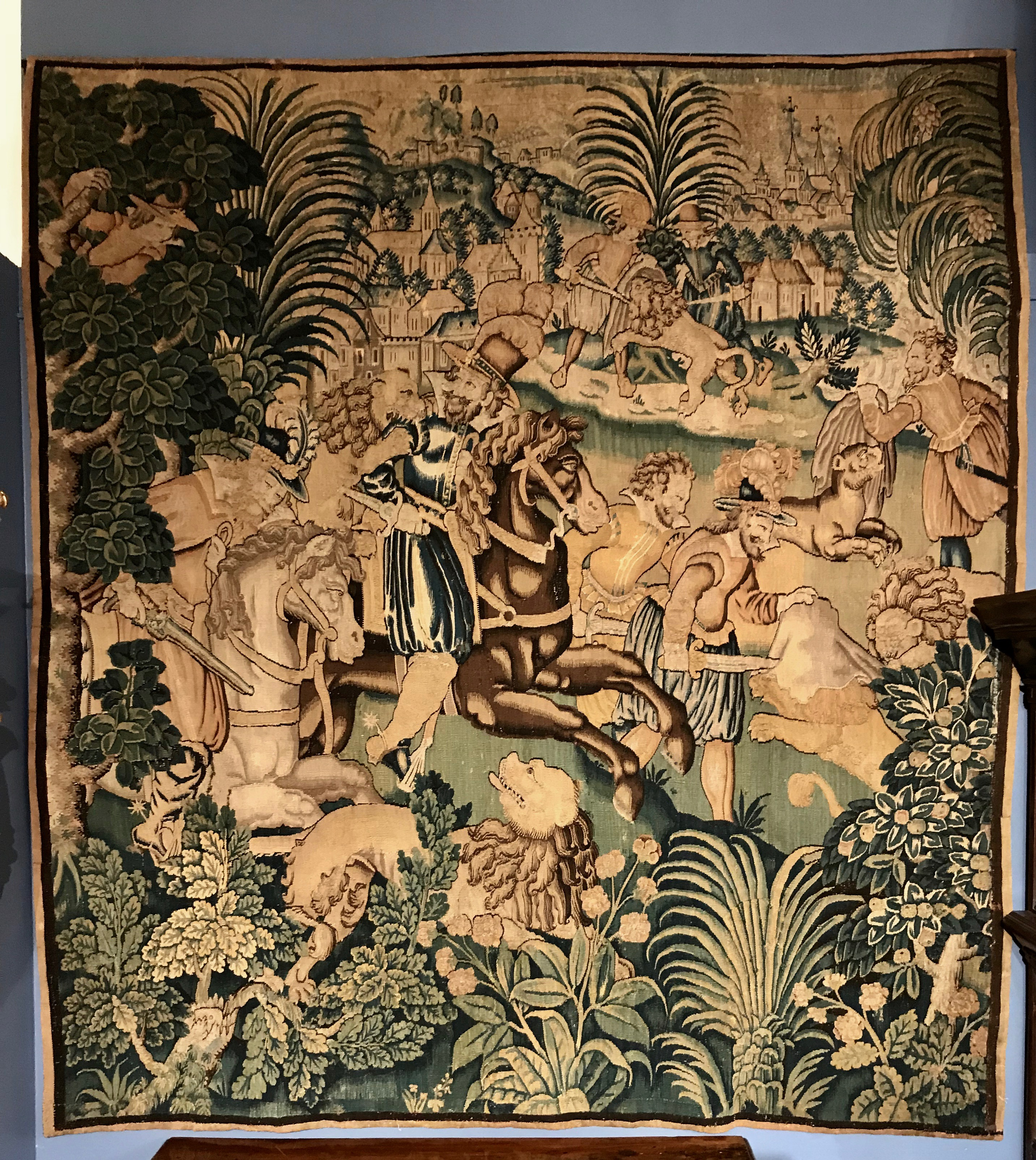 Flemish Hunting Tapestry