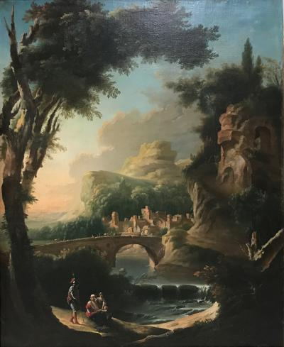 Italian 18th Century Painting Attrib. Cignaroli