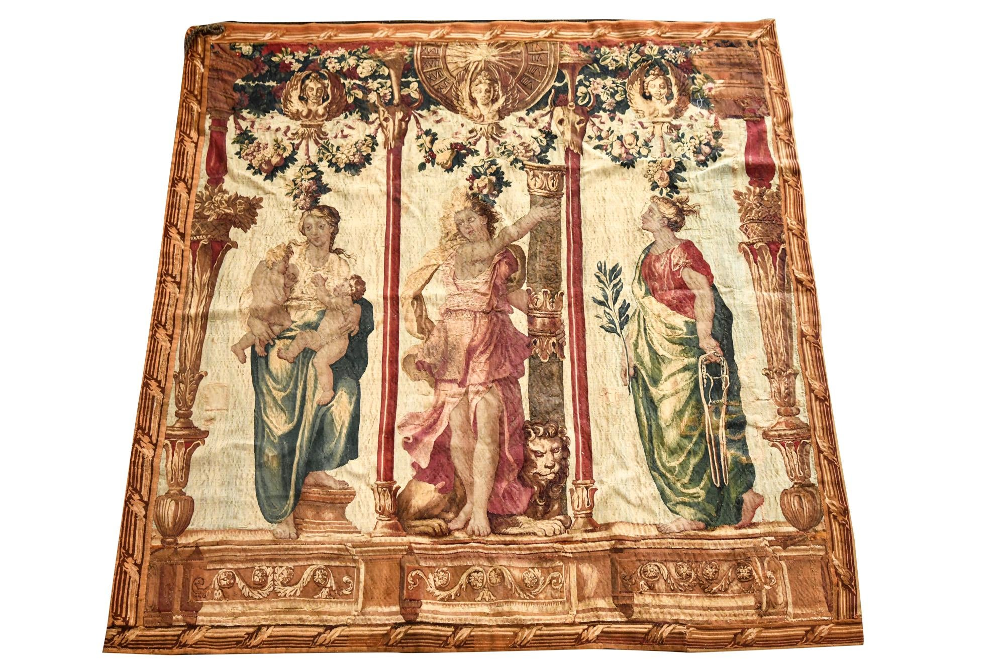 Brussels Tapestry 18th Century