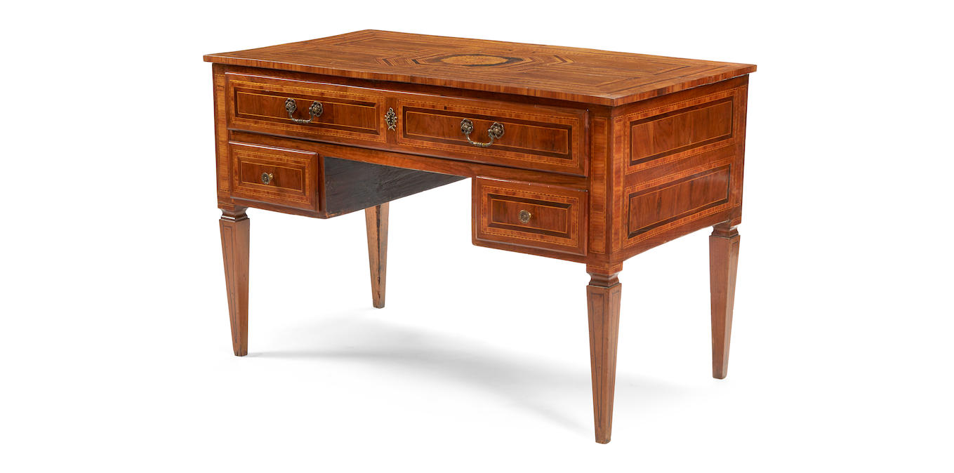 Italian Neoclassical Writing Desk