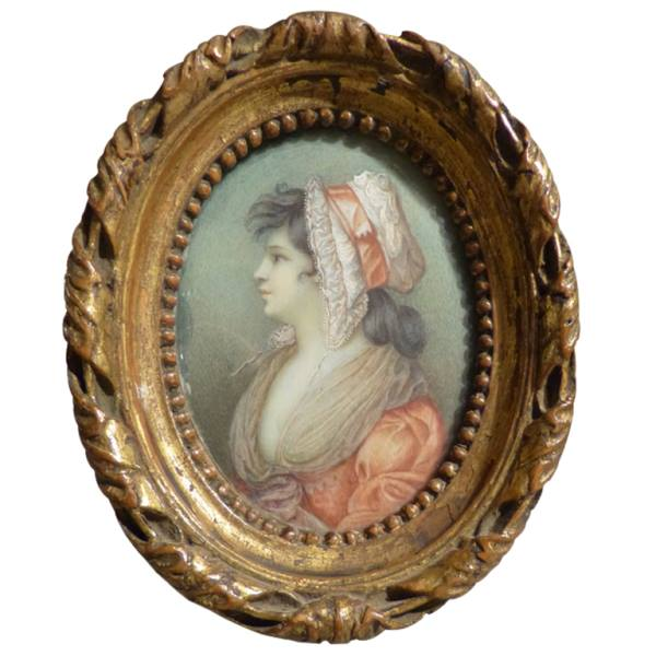Fine Quality French 18th century Miniature